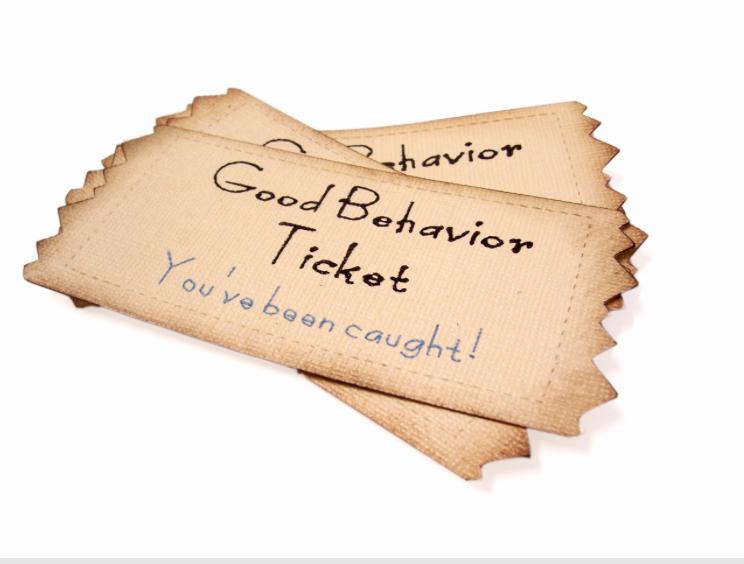 Good Behavior Pictures of 'good Behavior Tickets'